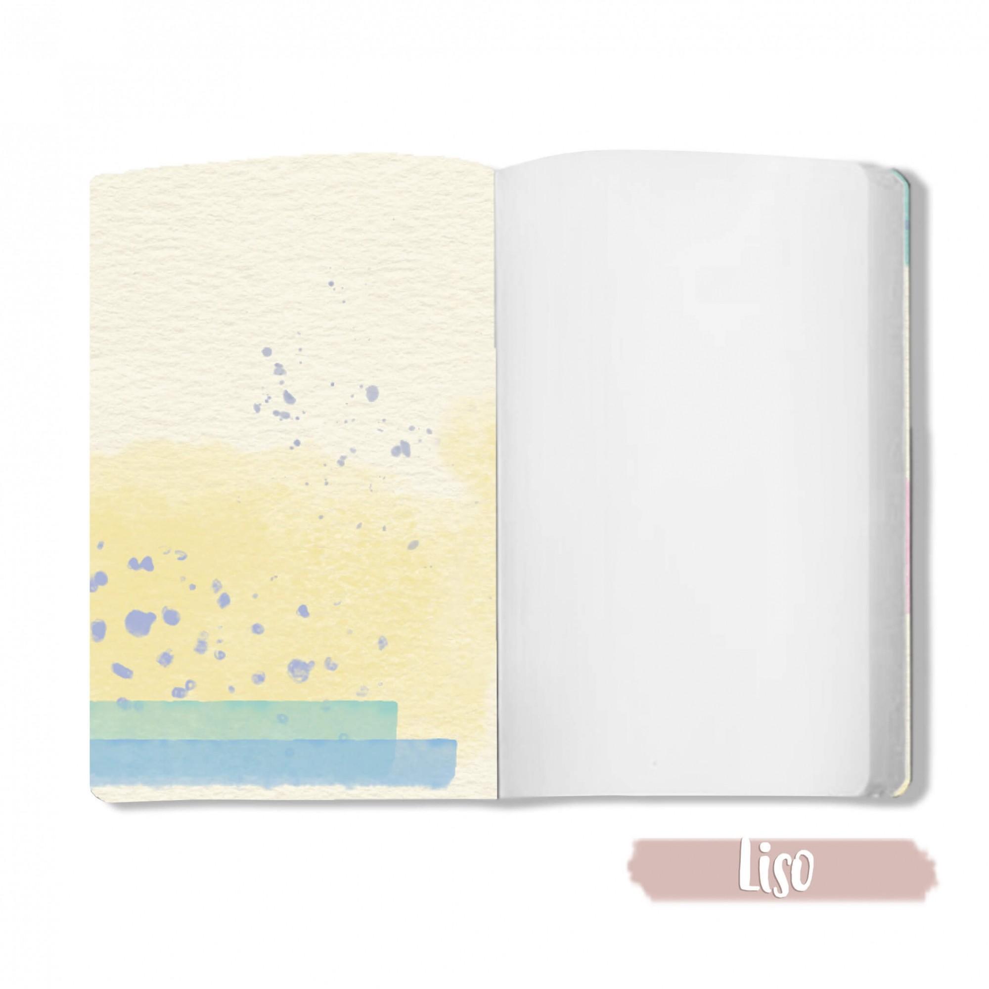 Caderno Potinho da Felicidade - Scrap Minuto - Coleção Vai com Fé / JuJu Scrapbook  - JuJu Scrapbook