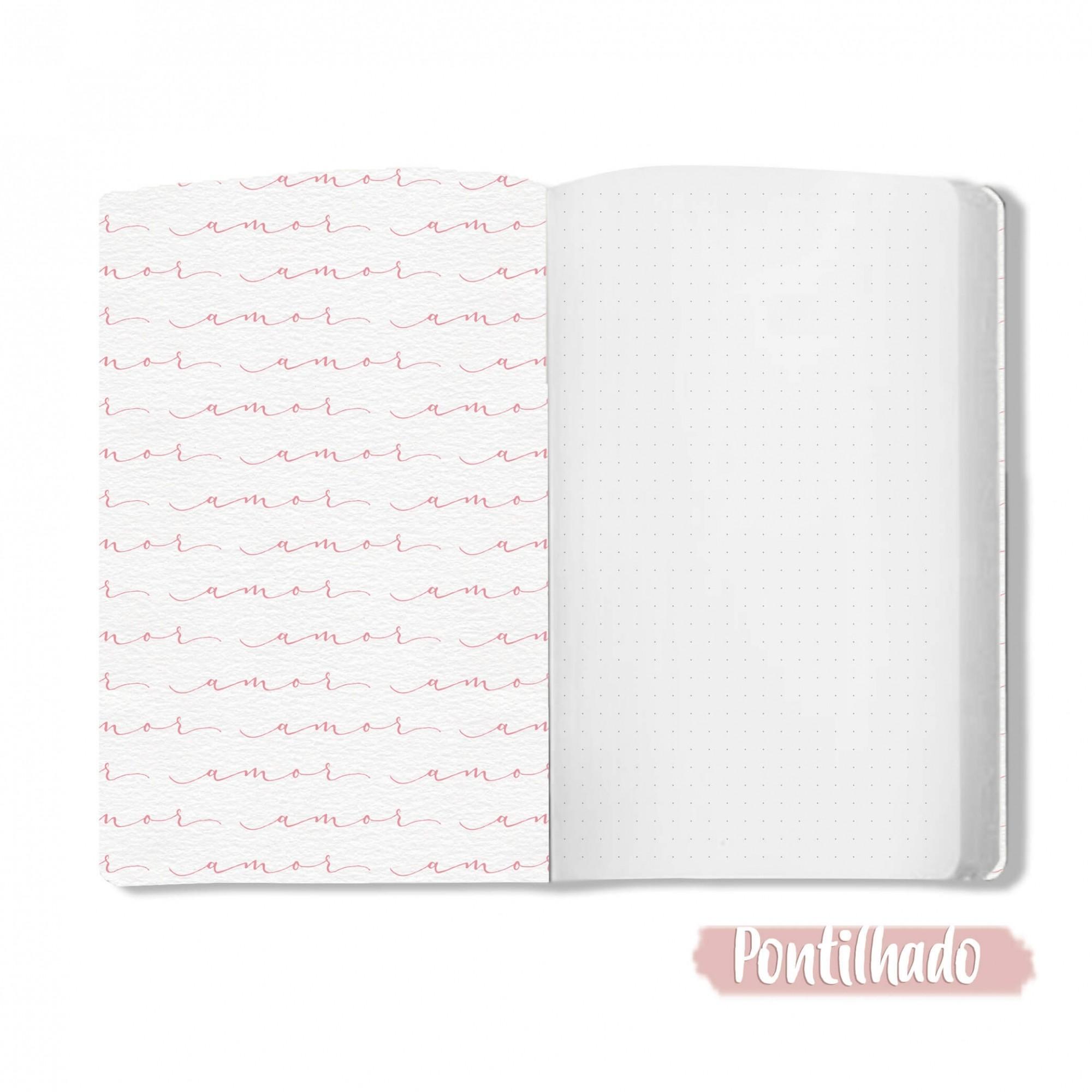 Caderno Regue o Amor - Scrap Minuto - Coleção Abraço de Urso / JuJu Scrapbook  - JuJu Scrapbook