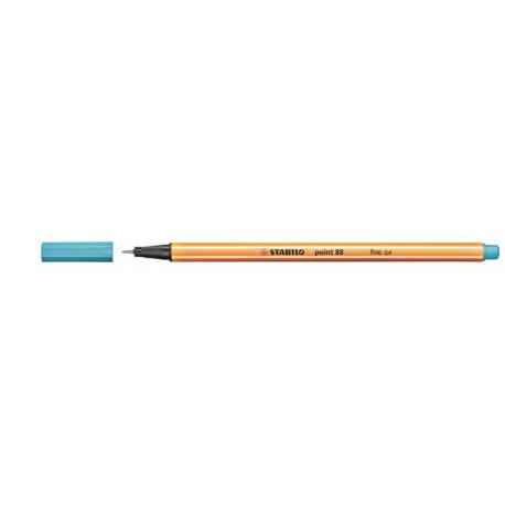Caneta Stabilo Point 88 - Cor Azul Claro (57) | Stabilo  - JuJu Scrapbook