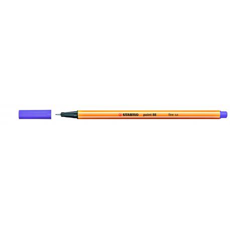 Caneta Stabilo Point 88 - Cor Roxo (55) | Stabilo  - JuJu Scrapbook
