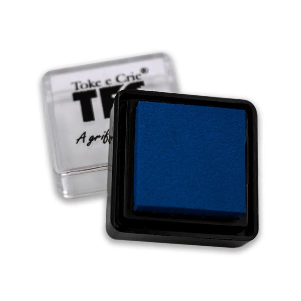 Carimbeira Azul - Toke e Crie  - JuJu Scrapbook
