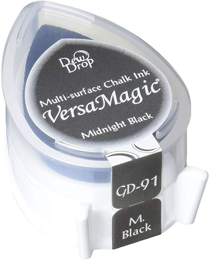 Carimbeira Versa Magic Pequena - Cor Midnight Black  - JuJu Scrapbook