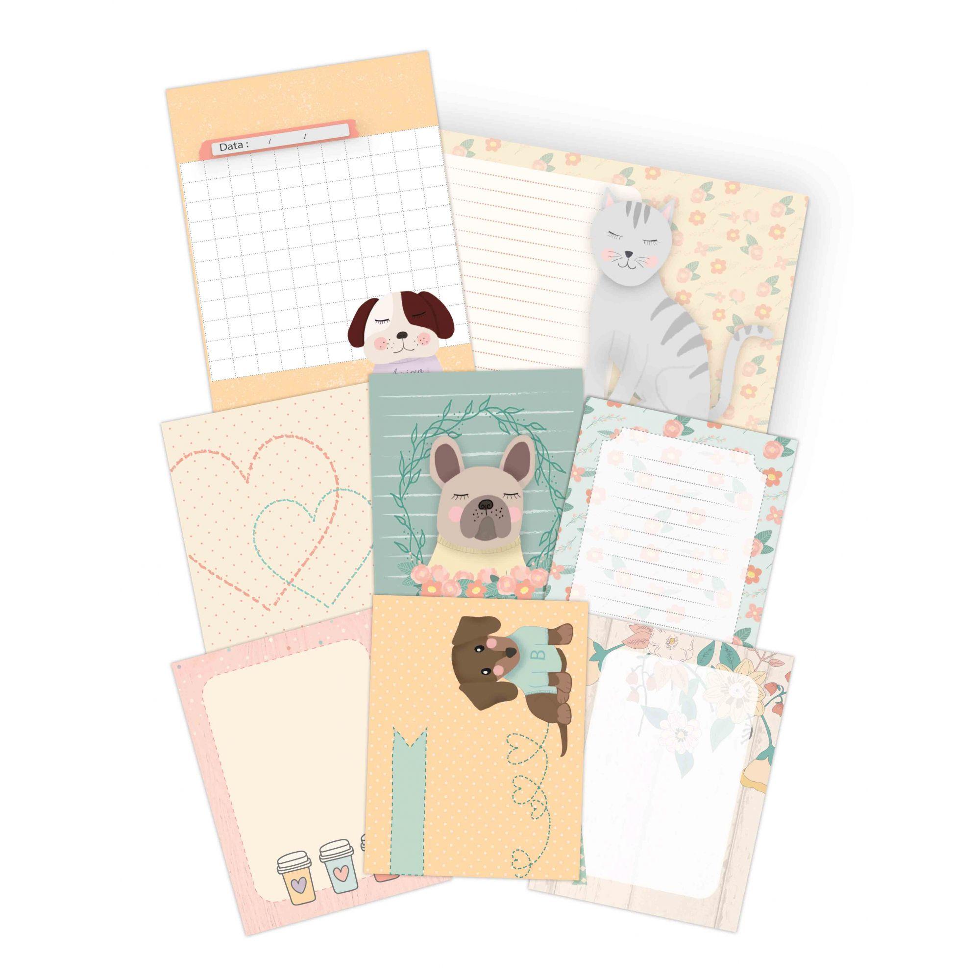 Cards Melhor Amigo - Coleção Amizade é Tudo - JuJu Scrapbook  - JuJu Scrapbook
