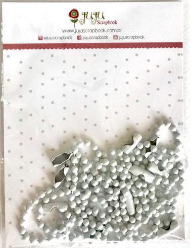 Correntinha - Neve - Juju Scrapbook  - JuJu Scrapbook
