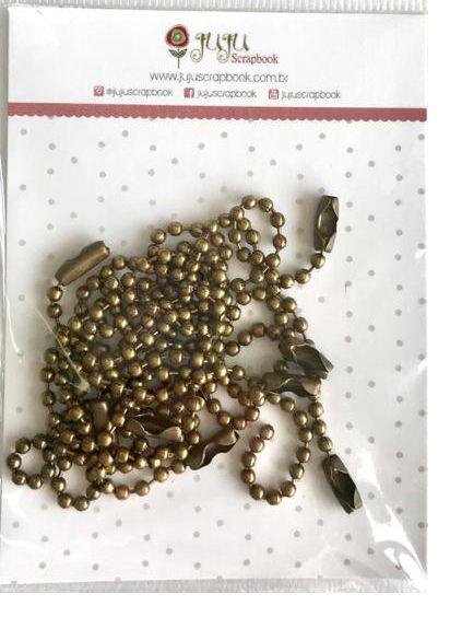 Correntinha - Ouro Velho - Juju Scrapbook  - JuJu Scrapbook