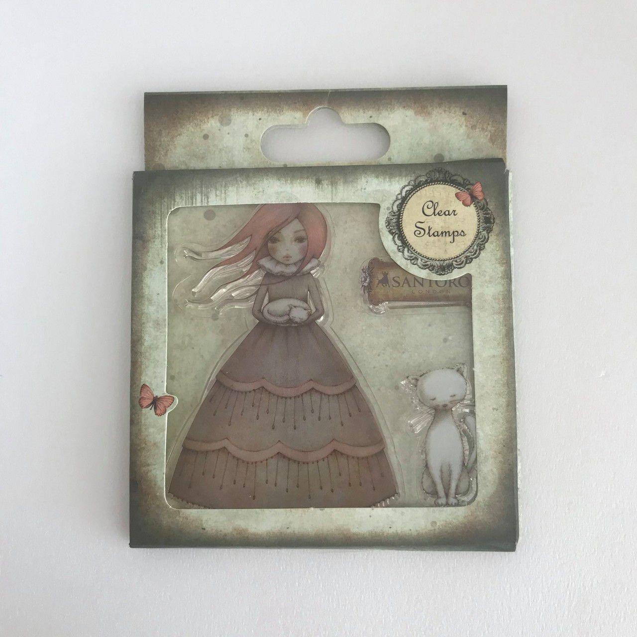 Desapego Juju - Clear Stamps - Santoro  - JuJu Scrapbook
