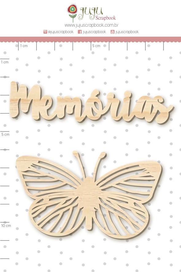 Enfeite Pinus Memórias  - Coleção Família para Sempre - Juju Scrapbook  - JuJu Scrapbook