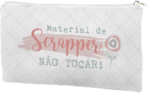 Estojo Material de Scrapper - JuJu Scrapbook  - JuJu Scrapbook