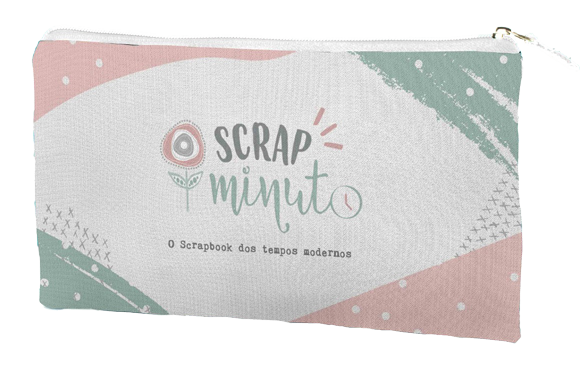 Estojo Scrap Minuto - JuJu Scrapbook  - JuJu Scrapbook