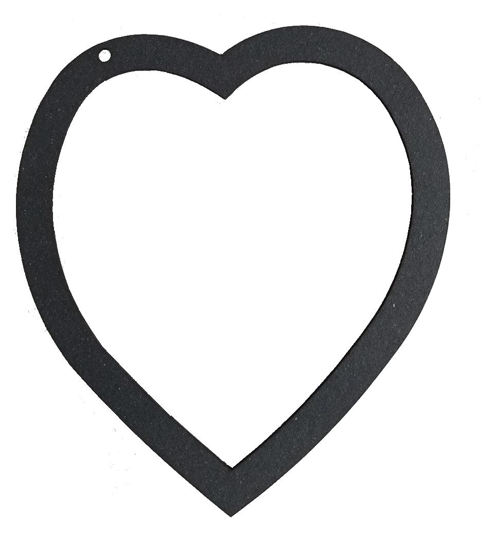 Álbum Amor - estrutura em chipboard preto  - JuJu Scrapbook