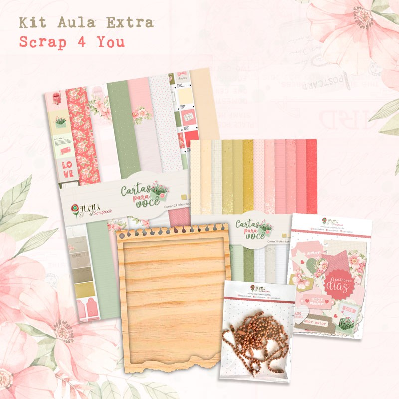 Kit Aula Extra Scrap 4 You  - JuJu Scrapbook