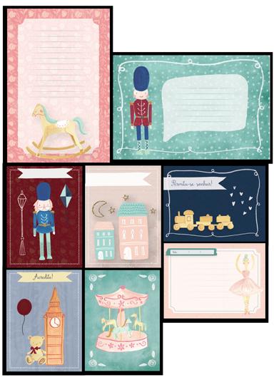 Cards Soldadinho - Coleção Mundo Mágico - JuJu Scrapbook  - JuJu Scrapbook