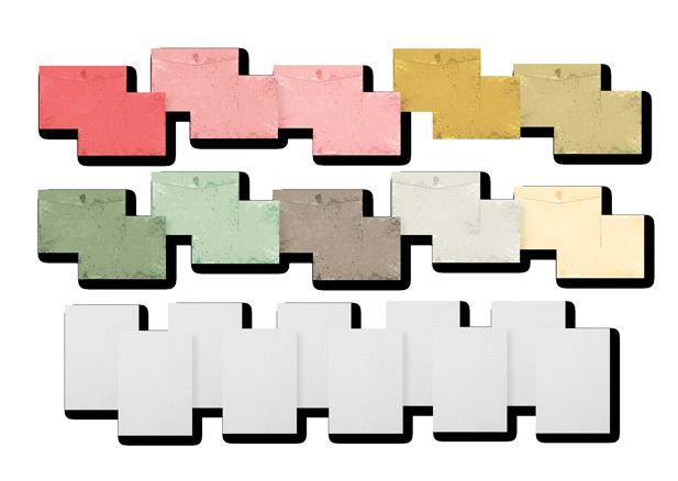 Kit para Cartões - Coleção Cartas para Você  - JuJu Scrapbook
