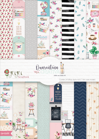 "Kit ""Layout Interativo""  - JuJu Scrapbook"