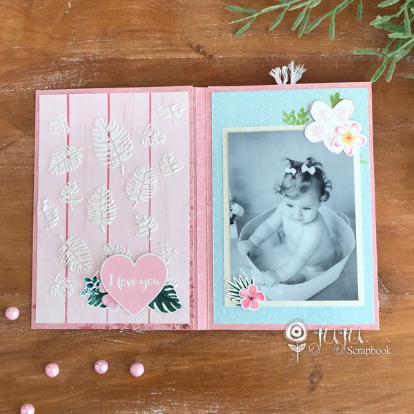 "Kit ""Mini Álbum na Caixinha""  - JuJu Scrapbook"