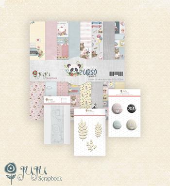 "Kit Mini Álbum ""Sorria Amor""  - JuJu Scrapbook"