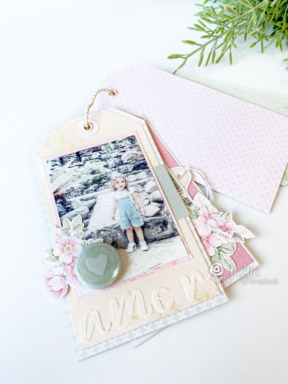 "Kit ""Mini Álbum Tags"" - JuJu Scrapbook  - JuJu Scrapbook"