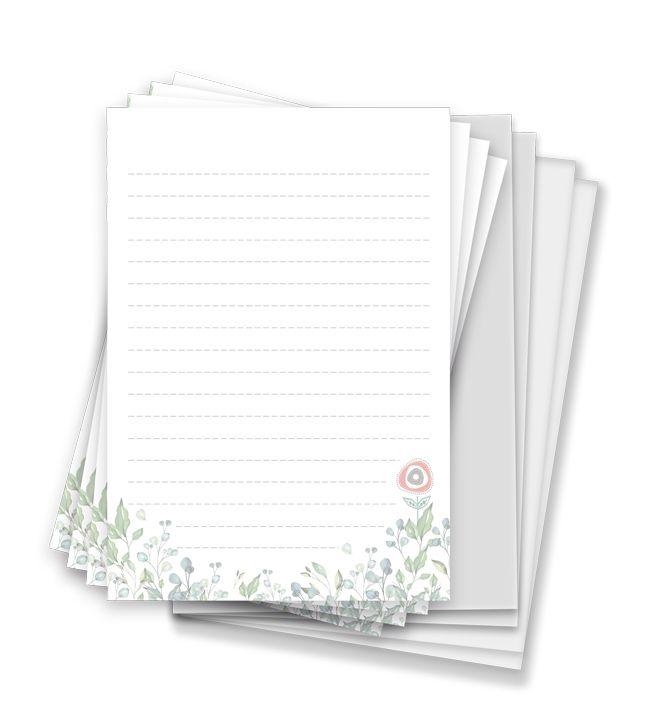 Kit para Bloco de Anotações - Coleção Toda Básica - JuJu Scrapbook  - JuJu Scrapbook
