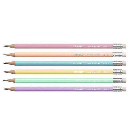 Lápis Stabilo HB - Cor Verde Pastel | Stabilo  - JuJu Scrapbook