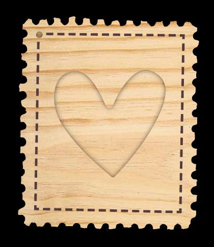 Mini Álbum Selo de Amor - Coleção Cartas para Você - Juju Scrapbook  - JuJu Scrapbook