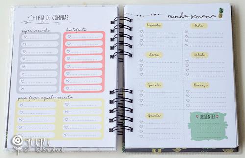 Miolo para Planner Anual - Coleção Todo Momento Importa / JuJu Scrapbook  - JuJu Scrapbook