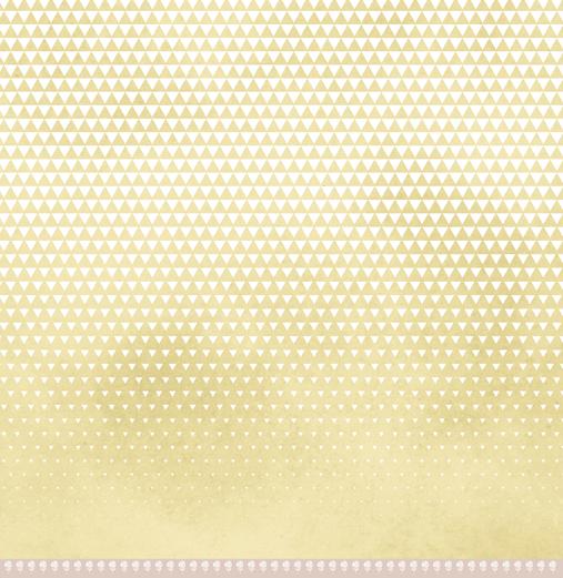 Papel Triangulinhos - Coleção Toda Básica / JuJu Scrapbook  - JuJu Scrapbook