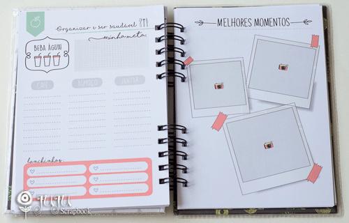 Planner Anual - Coleção Todo Momento Importa - JuJu Scrapbook  - JuJu Scrapbook