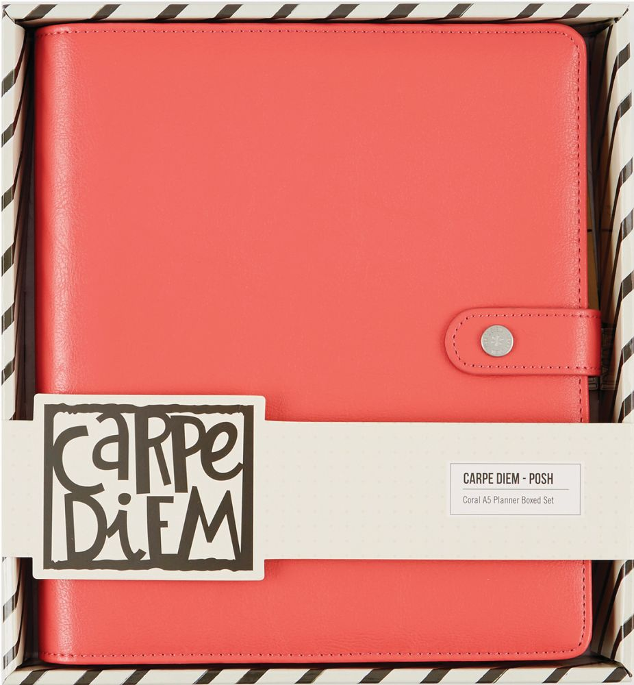 PLANNER CORAL A5 -   Carpe Diem  - JuJu Scrapbook