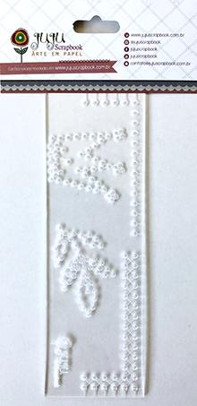 Régua de Costura Coroa - Coleção Mundo Mágico - Juju Scrapbook  - JuJu Scrapbook
