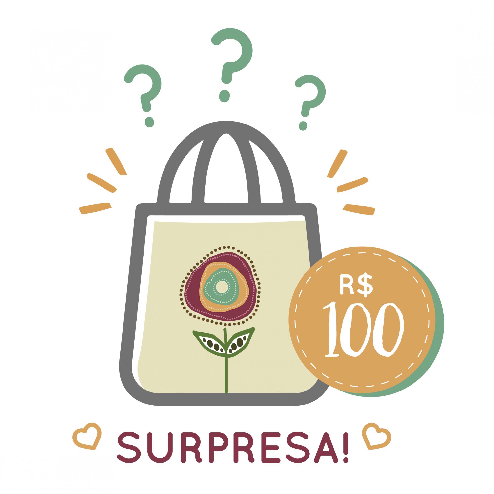 Sacola Surpresa - 100  - JuJu Scrapbook