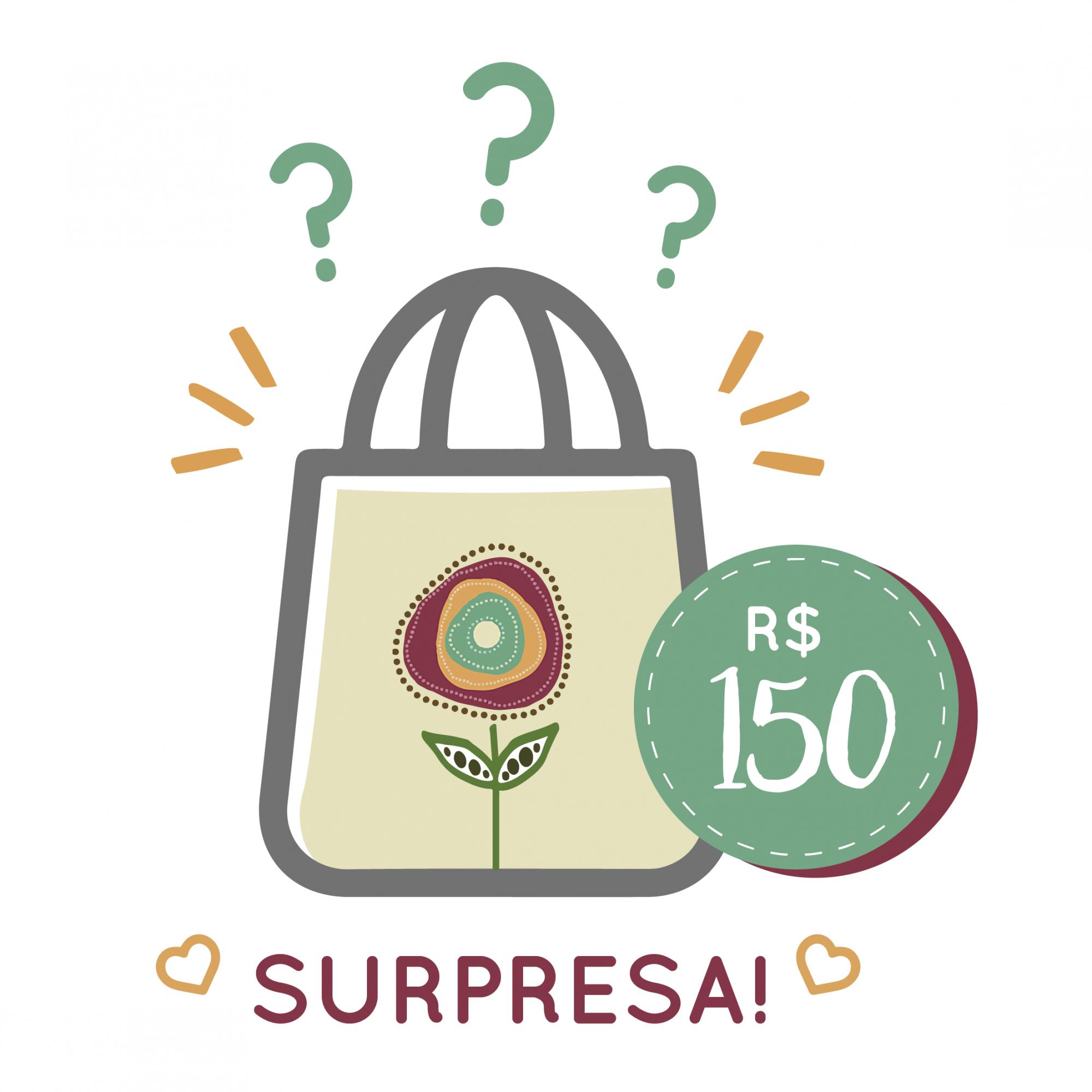 Sacola Surpresa - 150  - JuJu Scrapbook
