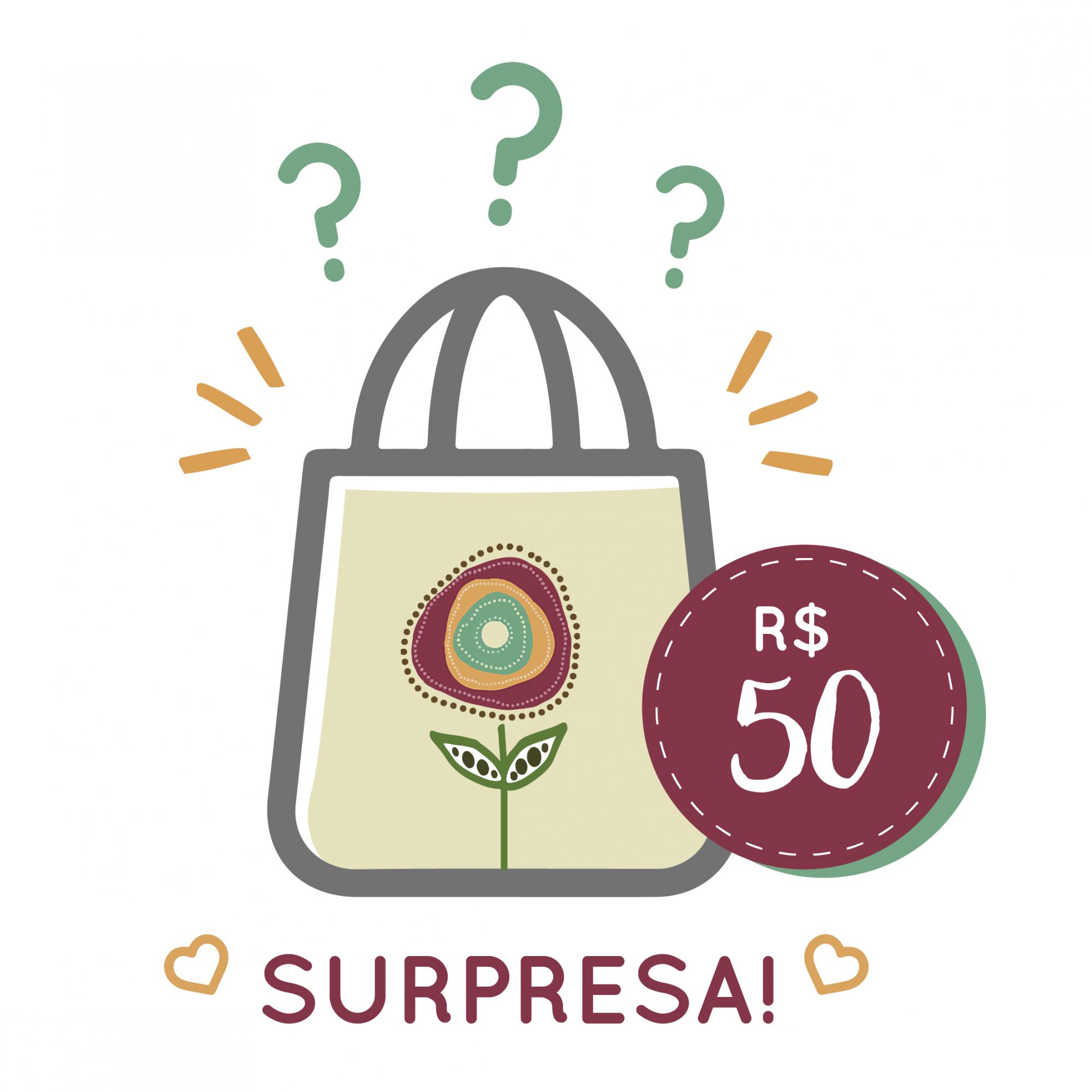 Sacola Surpresa - 50   - JuJu Scrapbook