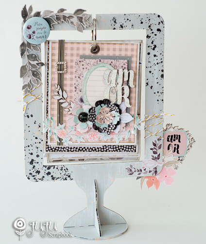 "Scrap Decor ""Amor""  - JuJu Scrapbook"