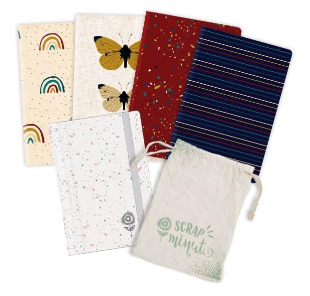 Scrap Minuto - Coleção Família para Sempre - Capa Confete  - JuJu Scrapbook