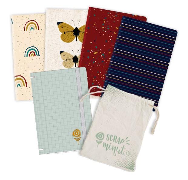 Scrap Minuto - Coleção Família para Sempre - Capa Menta  - JuJu Scrapbook