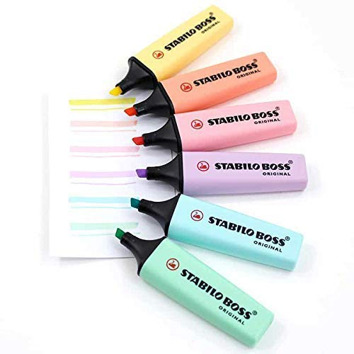 Stabilo Boss Original - Cor Azul Pastel | Stabilo  - JuJu Scrapbook