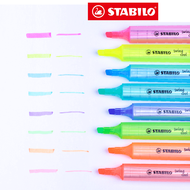 Stabilo Swing Cool - Cor Verde| Stabilo  - JuJu Scrapbook