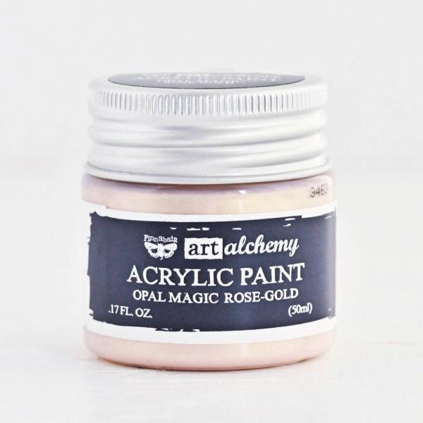 Tinta Acrílica Art Alchemy Opal Magic Rose Gold - Prima Marketing  - JuJu Scrapbook