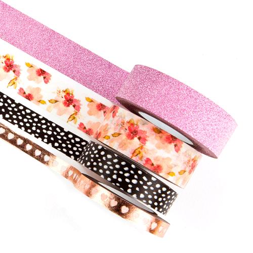 Washi Tape - Modern Floral / Prima Marketing   - JuJu Scrapbook