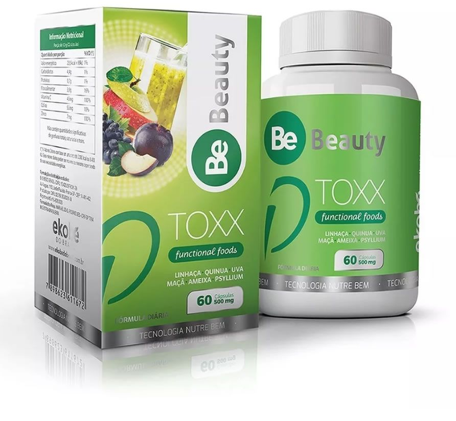 Be Beauty Dtoxx - 60 Capsulas  - SUPERVIT
