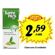 Luminus Tea Matchá 200ml (27 unidades)