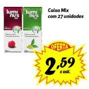 Luminus Tea sabores variados 200ml (27 unidades)