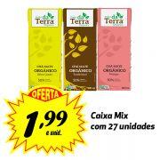 Poder da Terra Mate ORGÂNICO sabores variados 200ml (27 unidades)