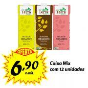 Poder da Terra Mate ORGÂNICO sabores variados 1 Litro (12 unidades)