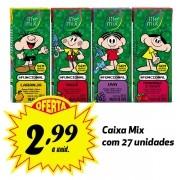 A MELHOR OPÇÃO PARA A LANCHEIRA! Bebida funcional Life Mix Kids sabores variados 200ml (27 unidades)