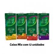 Bebida funcional Life Mix sabores variados 1L (12 unidades)