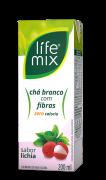CHÁ BRANCO SABOR LICHIA COM FIBRAS - LIFE MIX - 200ML