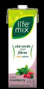 CHÁ VERDE COM CRANBERRY COM FIBRAS - LIFE MIX - 1L