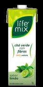 CHÁ VERDE SABOR LIMÃO COM FIBRAS - LIFE MIX - 1L
