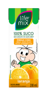 SUCO DE LARANJA - LIFE MIX KIDS - 200ml
